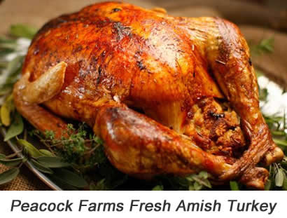 Peacock Farms Fresh Amish Turkey