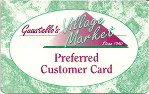Village Market Preferred Customer Card